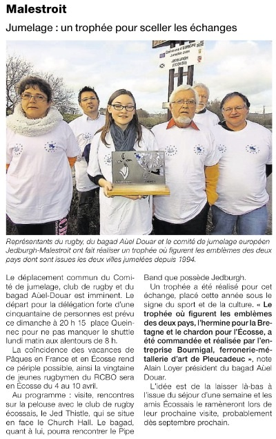 Ouest-France (3 Avril)